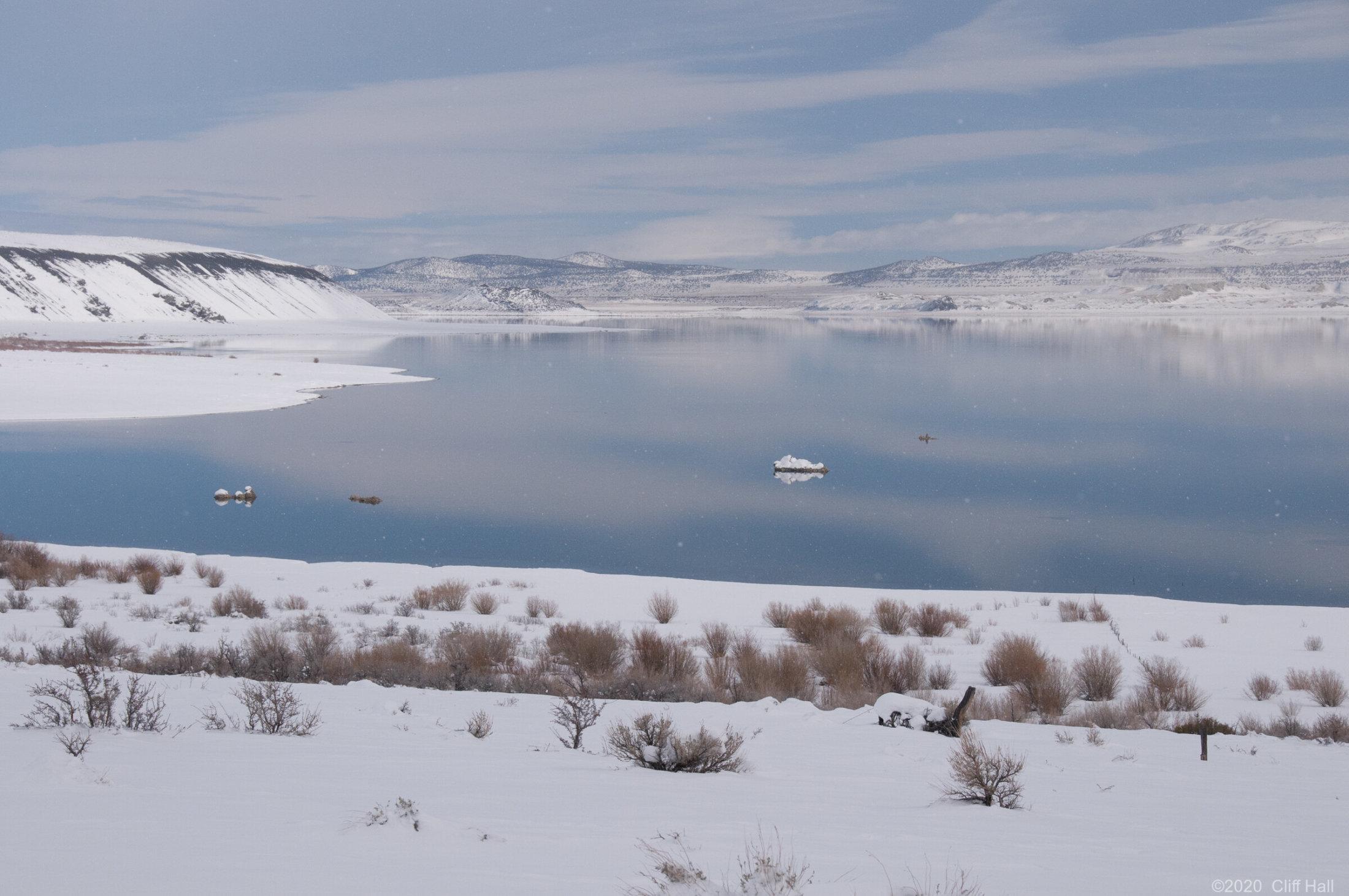 Mono Lake winter
