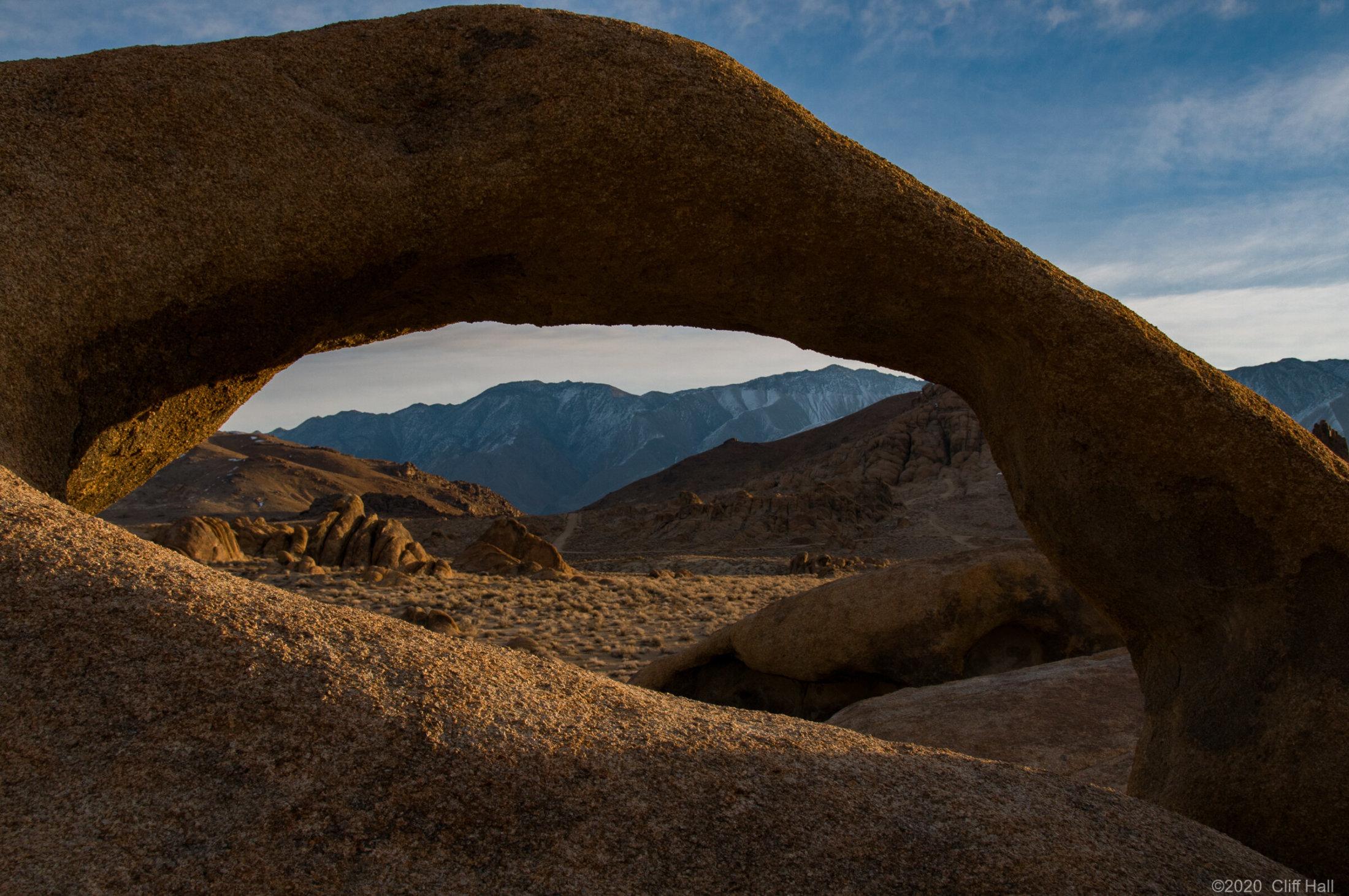 Mobius Arch, near Lone Pine, CA