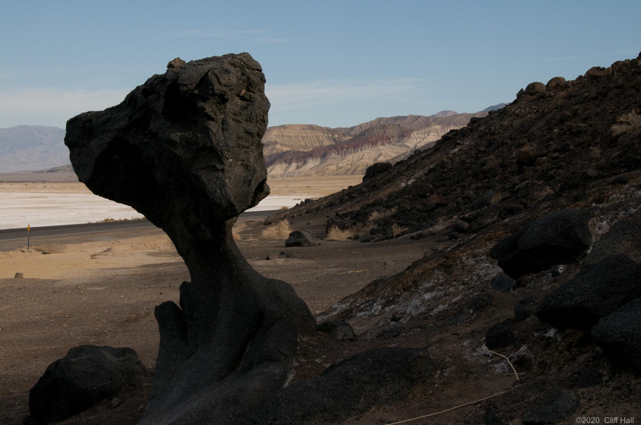 Mushroom Rock, Death Valley, CA