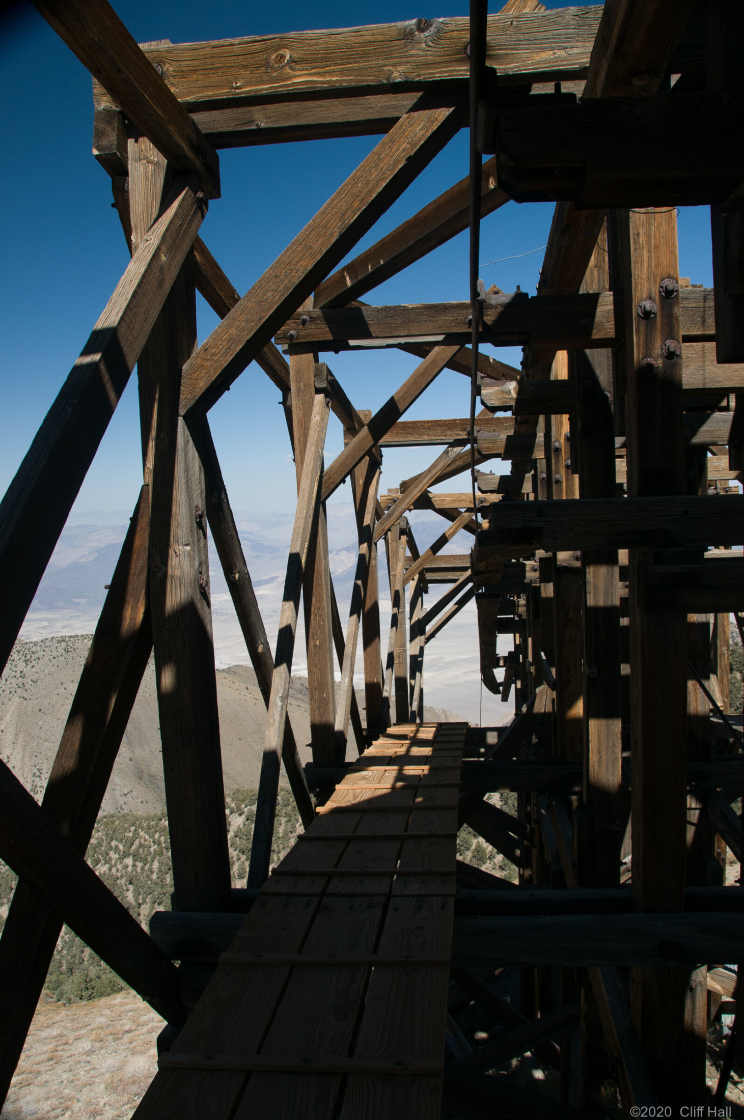 Saline Valley Salt Tram Summit Station