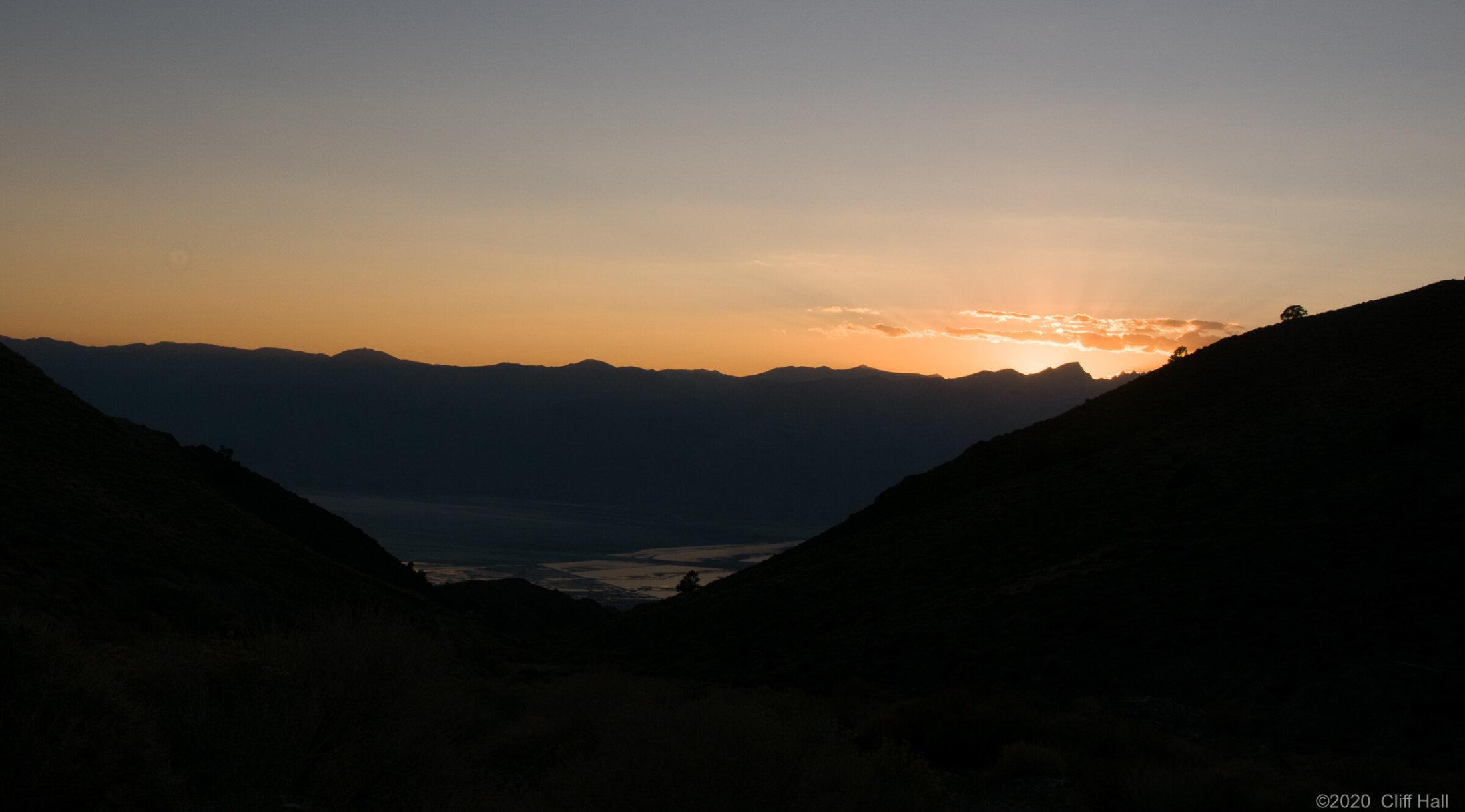 Cerro Gordo sunset