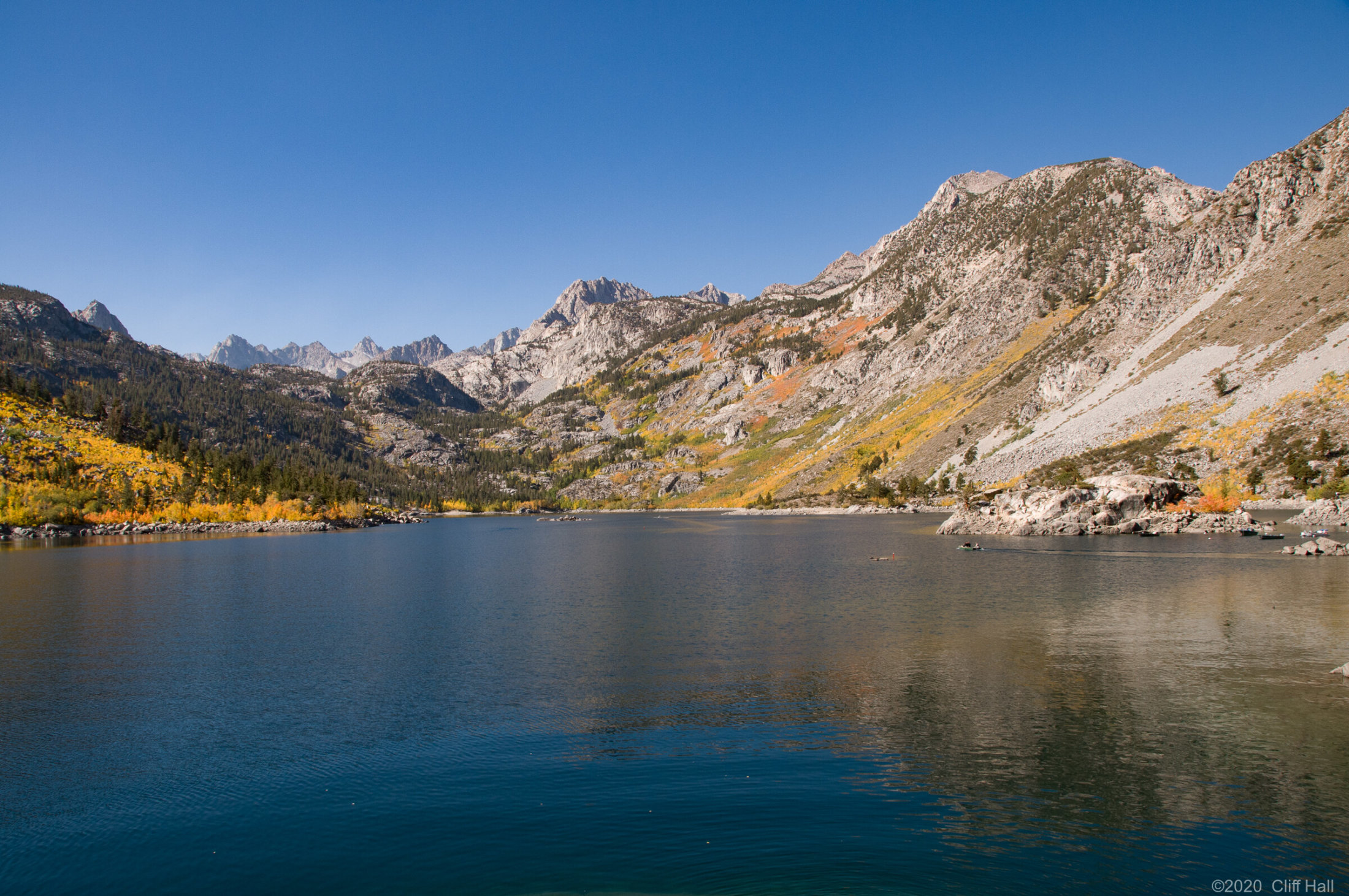 Sabrina Lake, California
