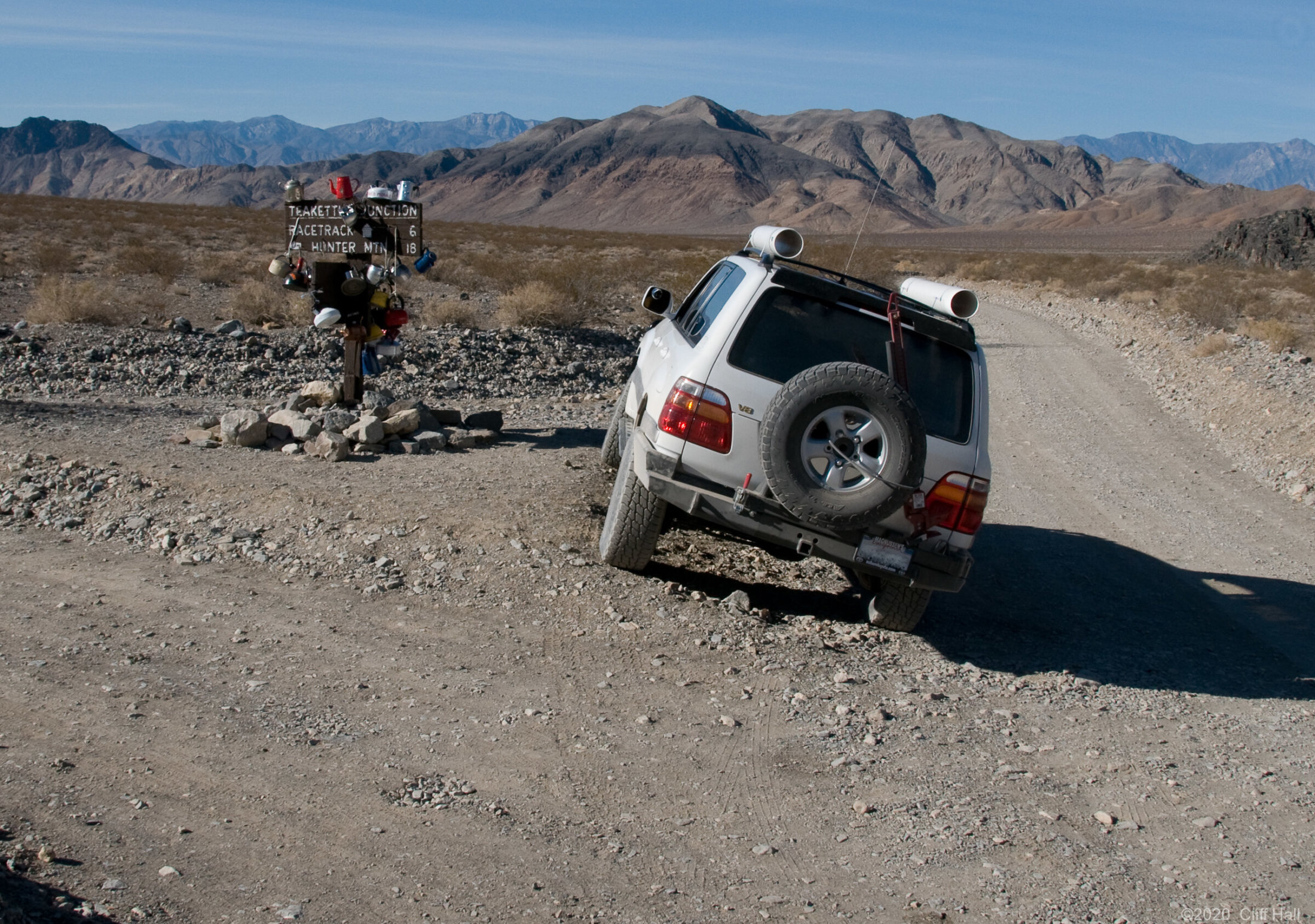 Teakettle Junction, Death Valley