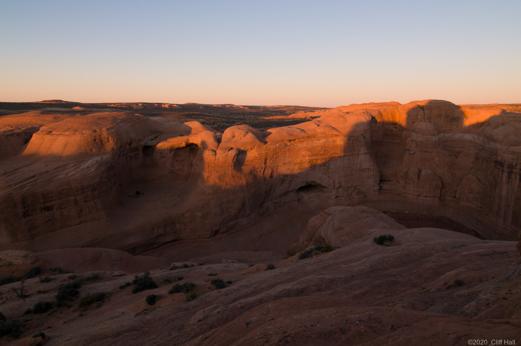 View from Delicate Arch, Arches Nat Park