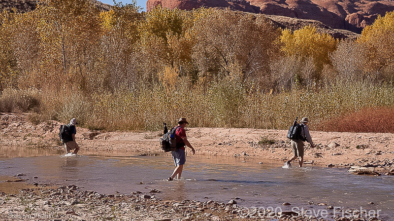 Crossing the Escalante River