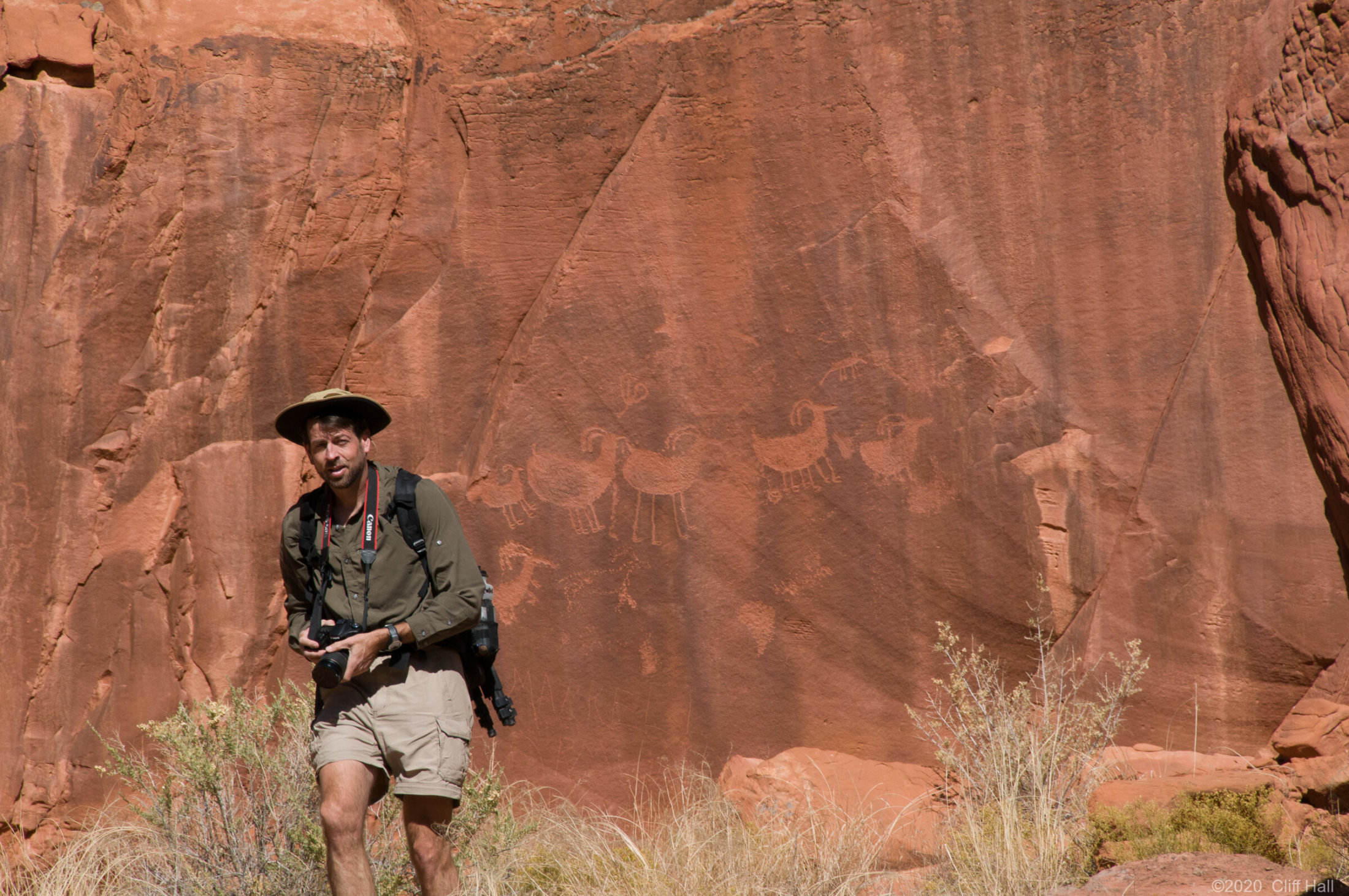 Now where are those petroglyphs?