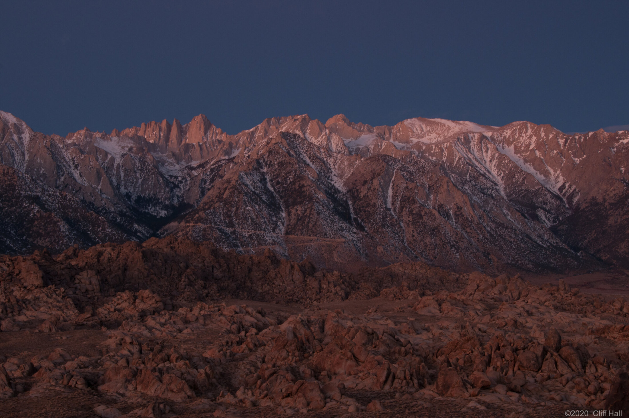 Mount Whitney, Highest point in Lower 48 States