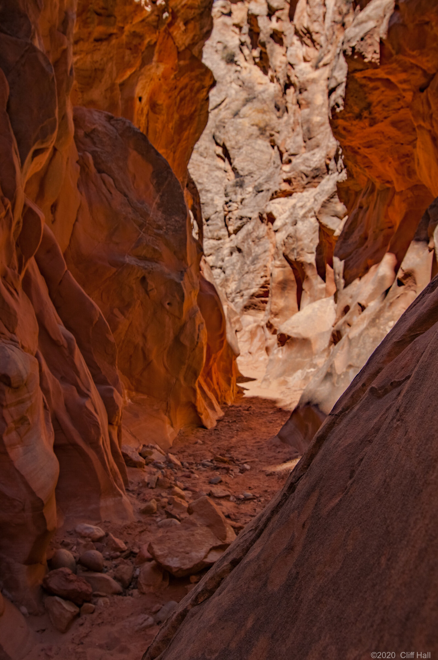 Slot canyon Off Cottonwood Canyon Road
