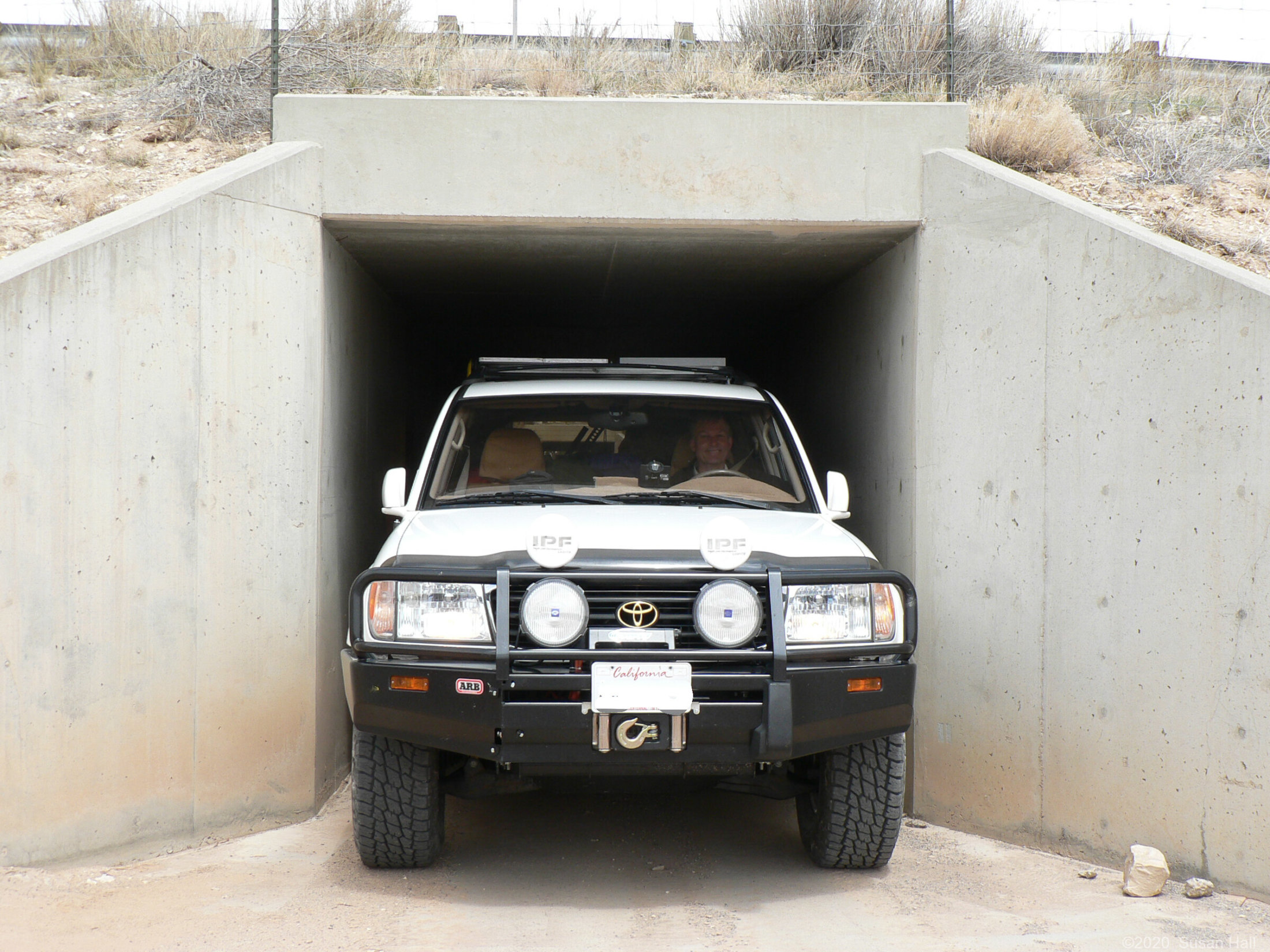Eagle Canyon exit is a tight squeeze