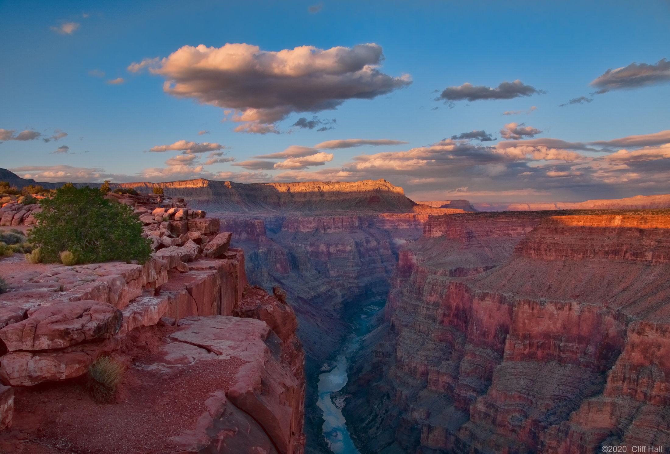 Toroweap sunset, Grand Canyon, AZ