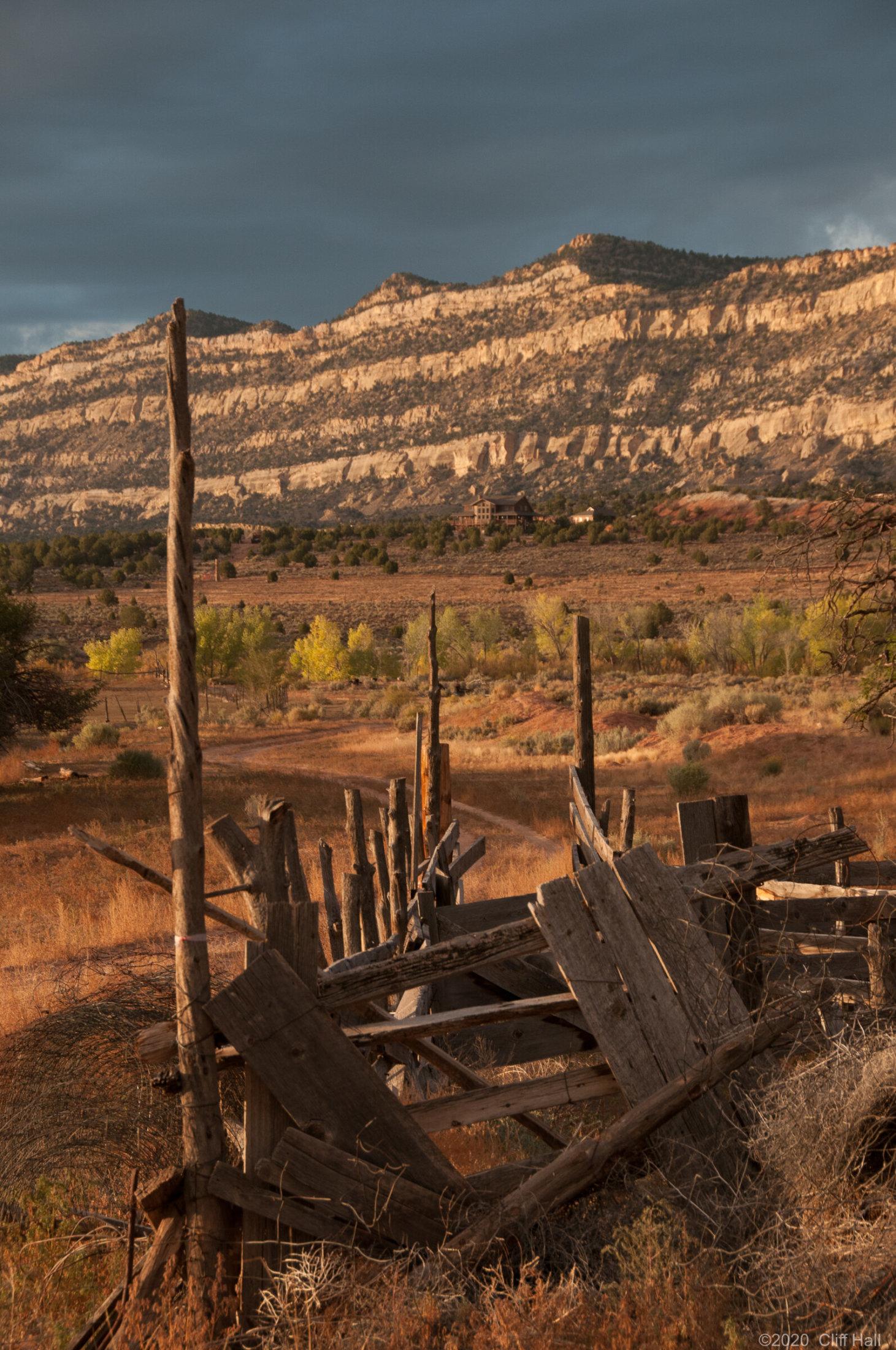 Old ranch corral, Escalante, UT