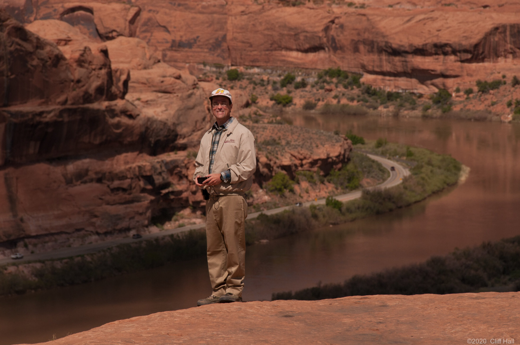 Karl at the Colorado River Overlook