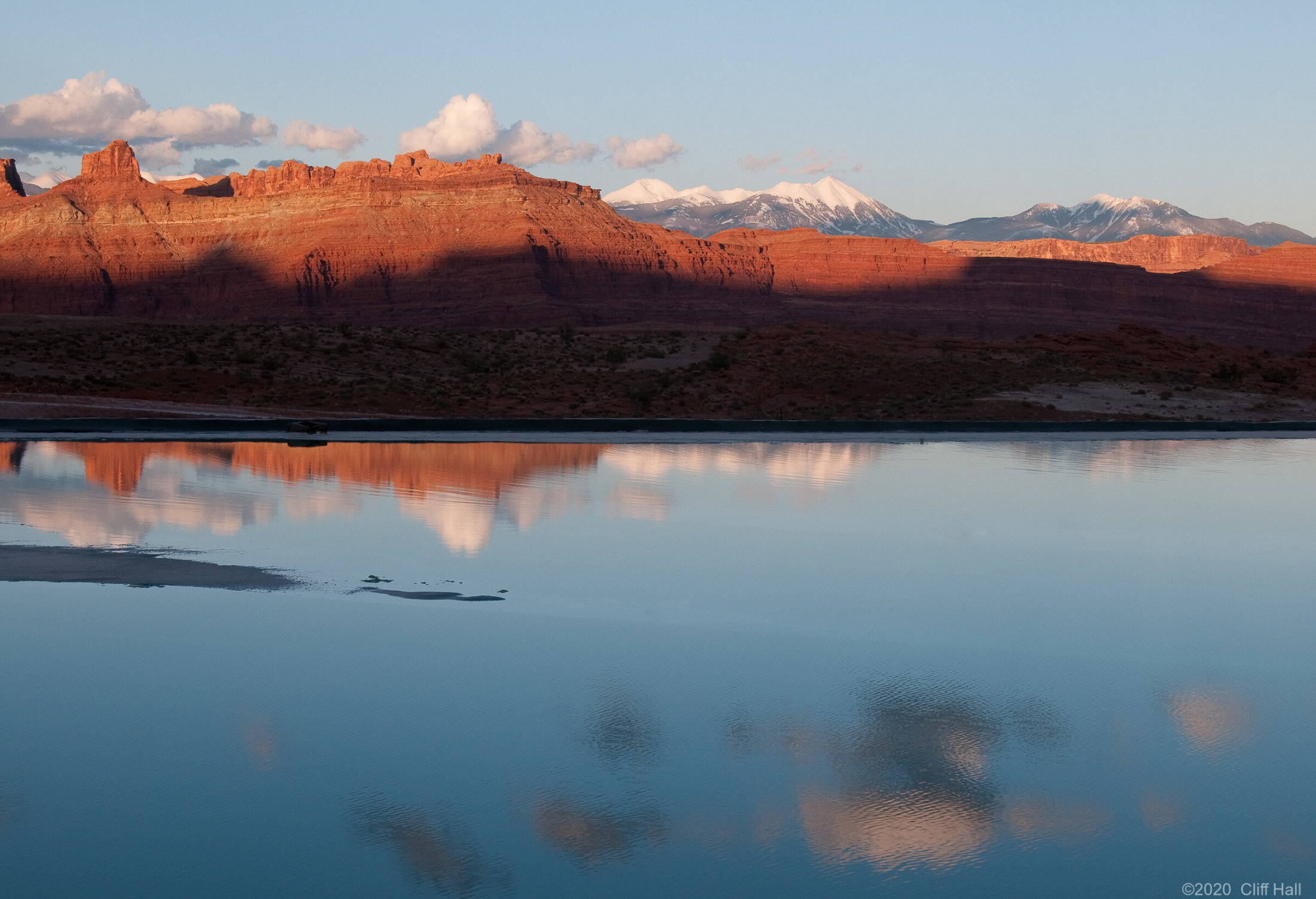 La Sal Mts from Shafer Trail