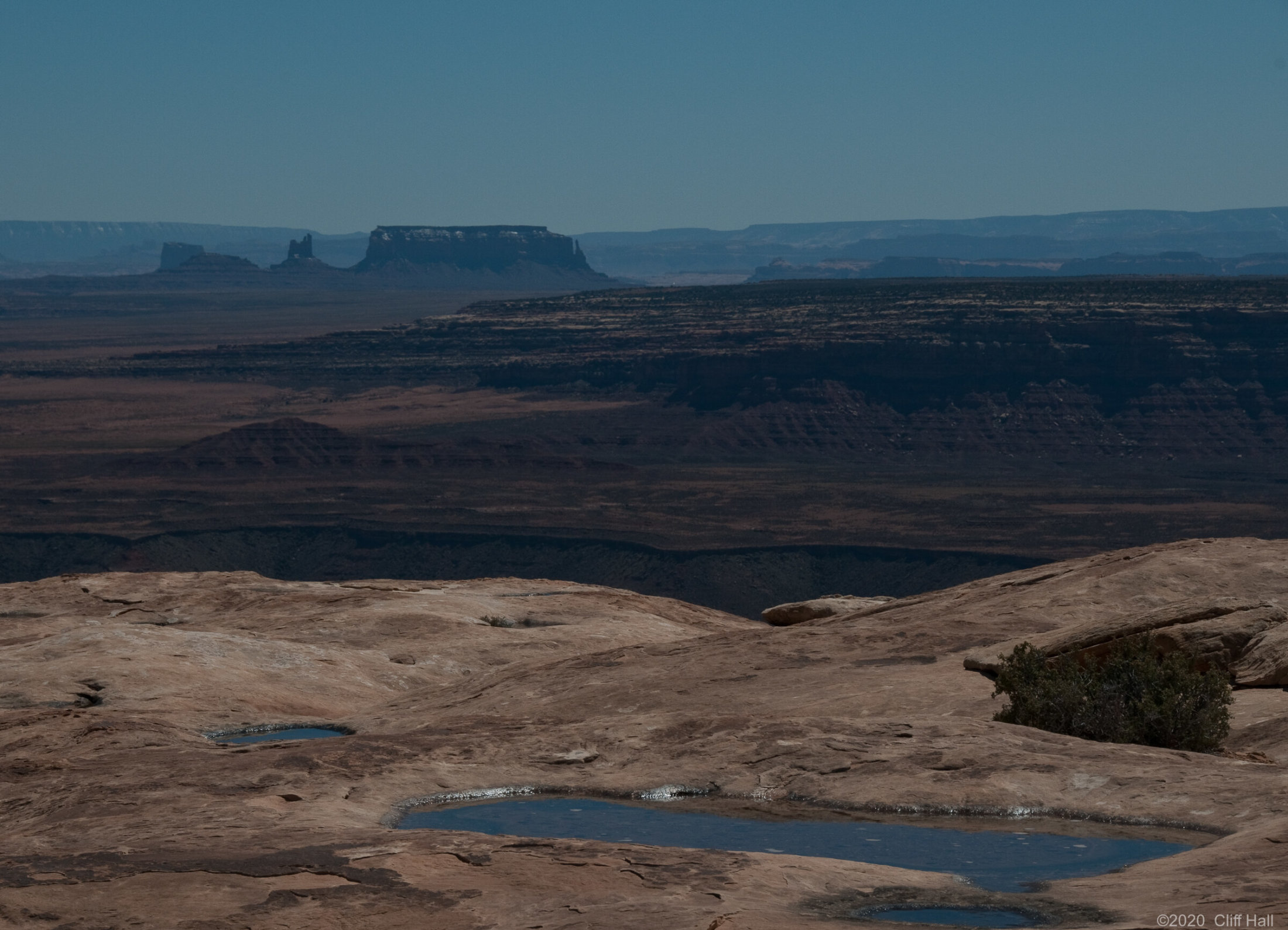Muley Point view of Monument Valley, UT