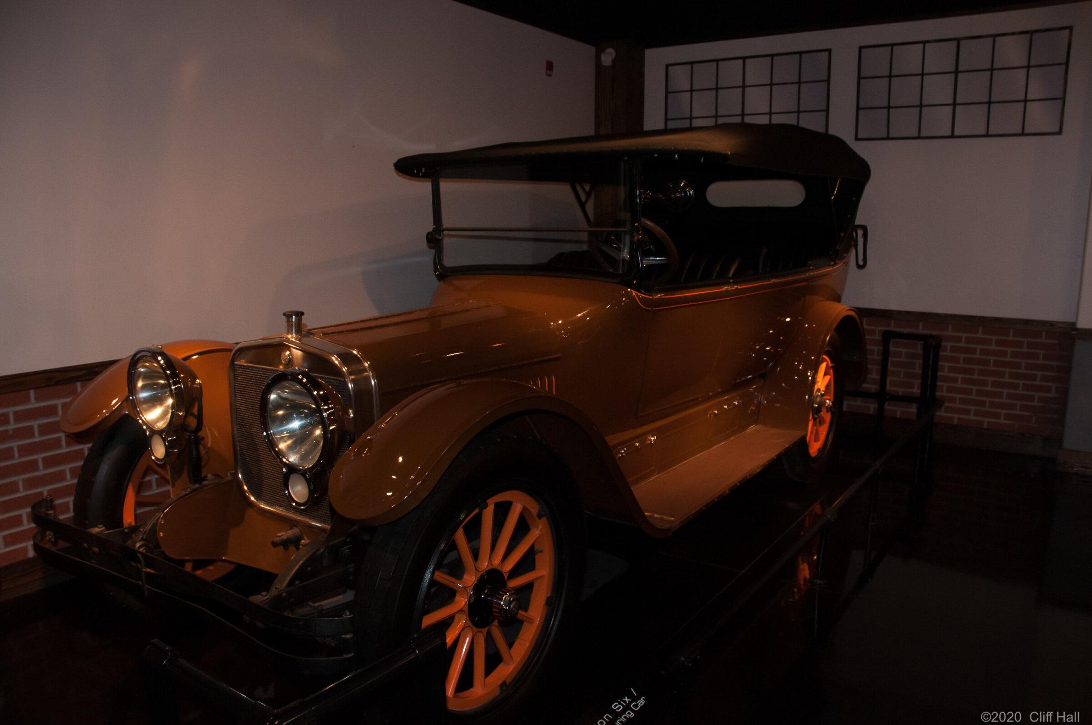 1917 Winston Six Touring Car