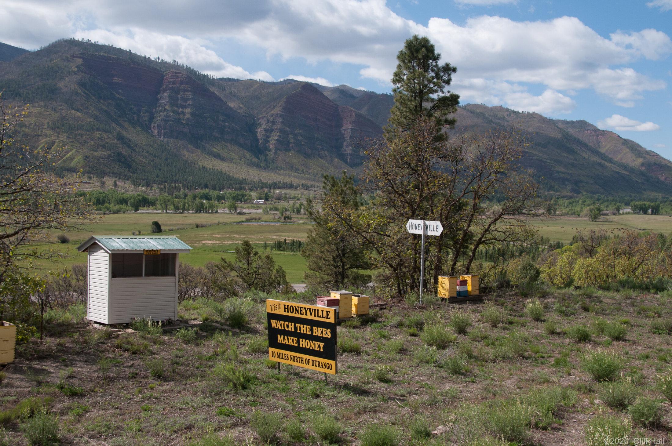 Local beekeeper ad