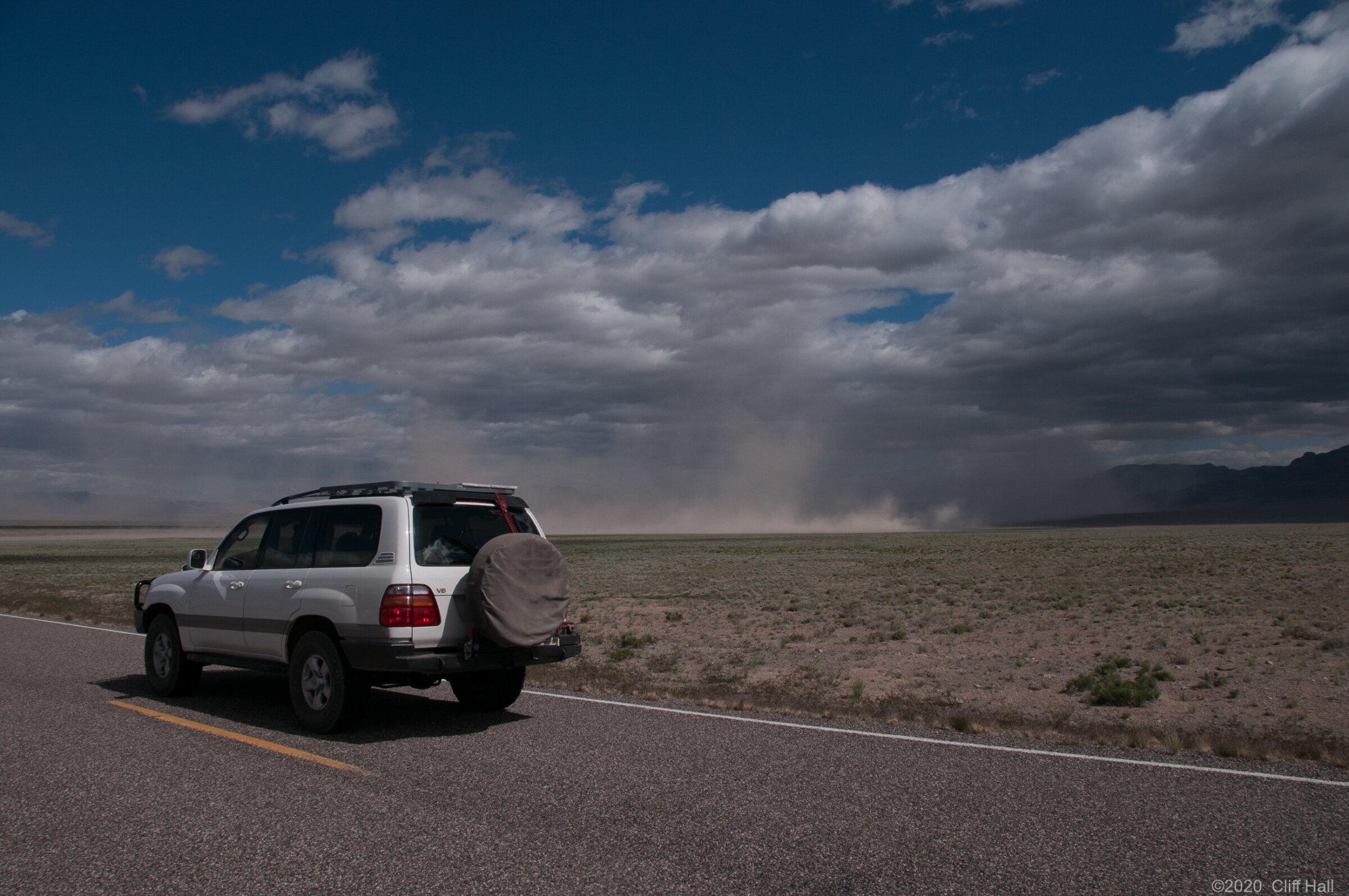 Cruising through Utah