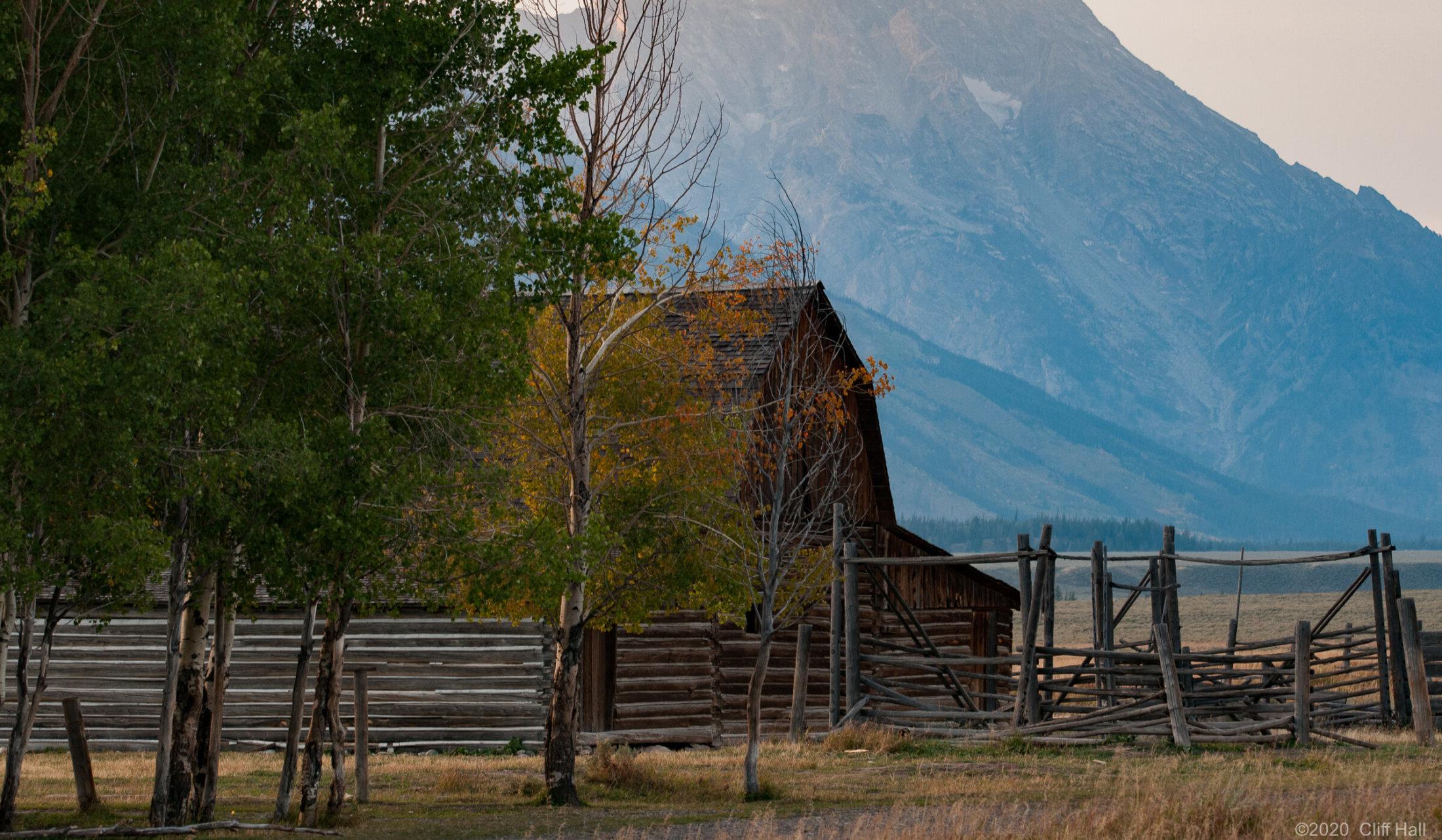 John Moulton Barn, Mormon Row