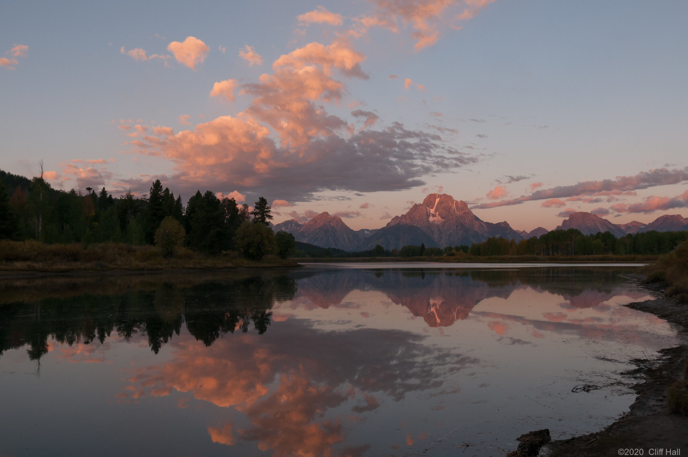 Mount Moran from Oxbow Bend
