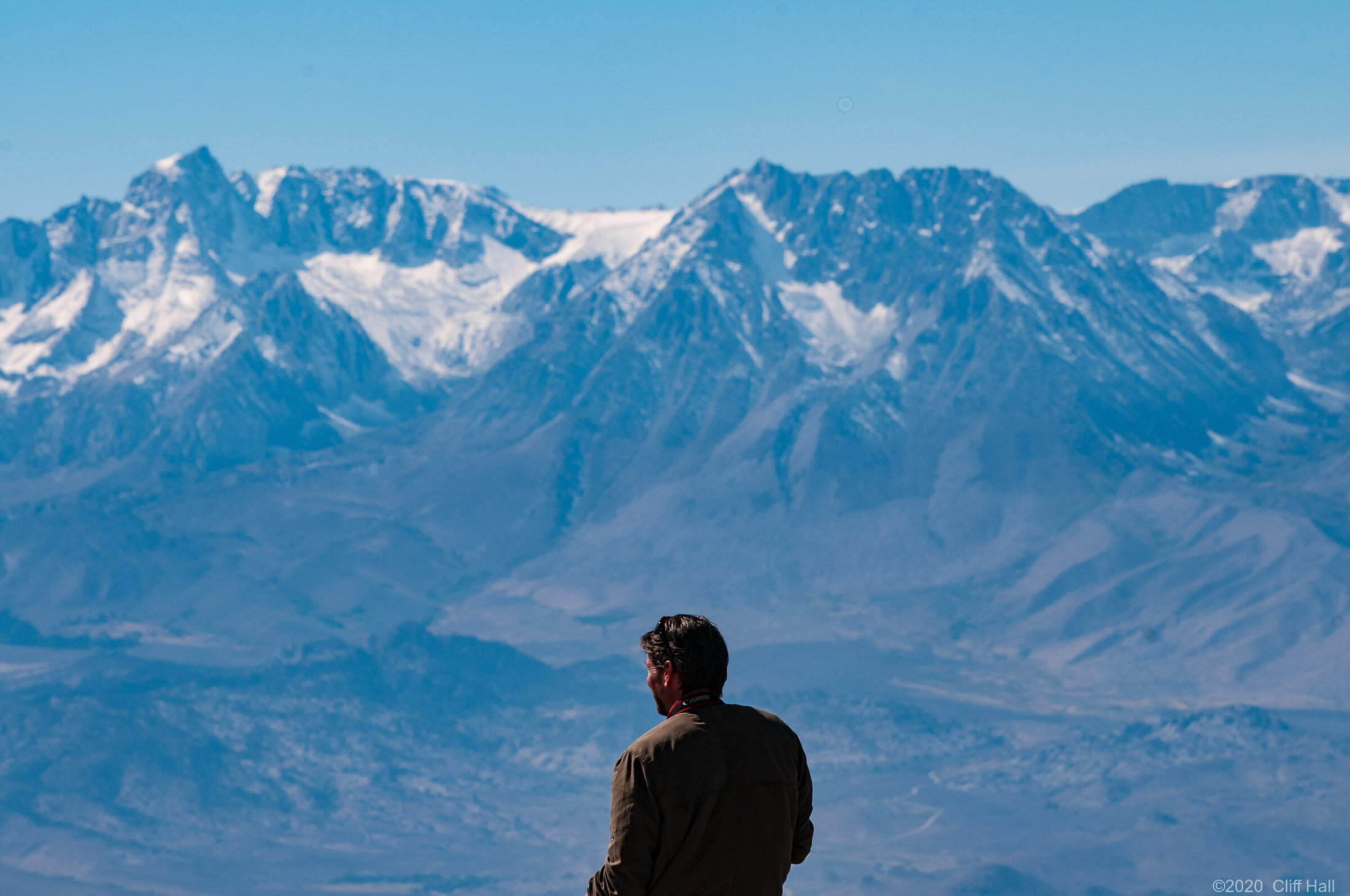 A man and his mountains