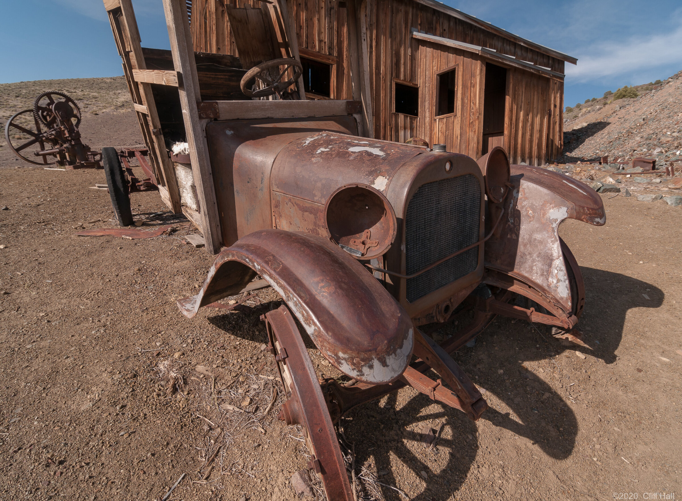 Early Dodge Brothers Truck at Berlin Mine