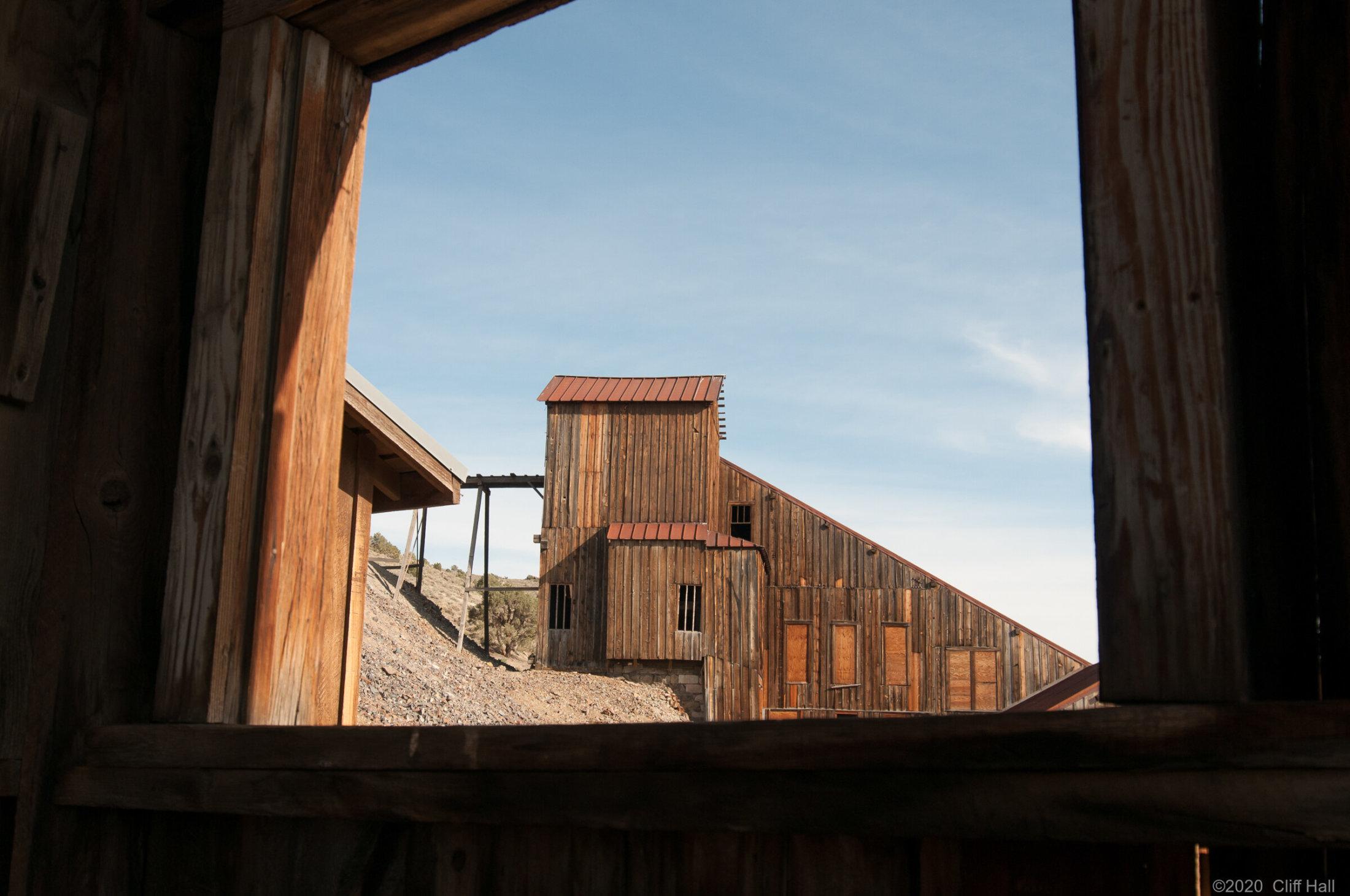 Mill Building at Berlin Mine