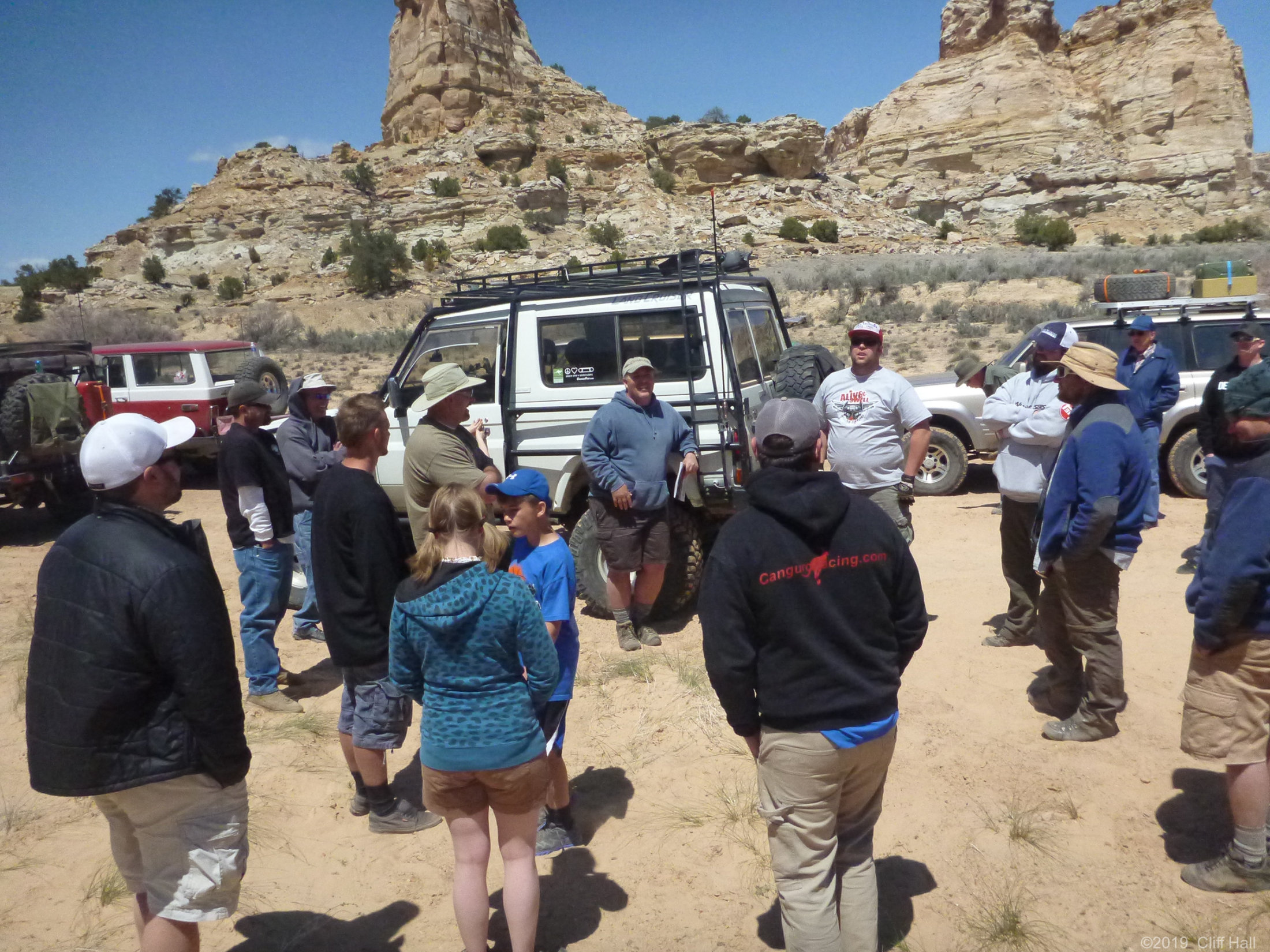 San Rafael Swell Lunch stop