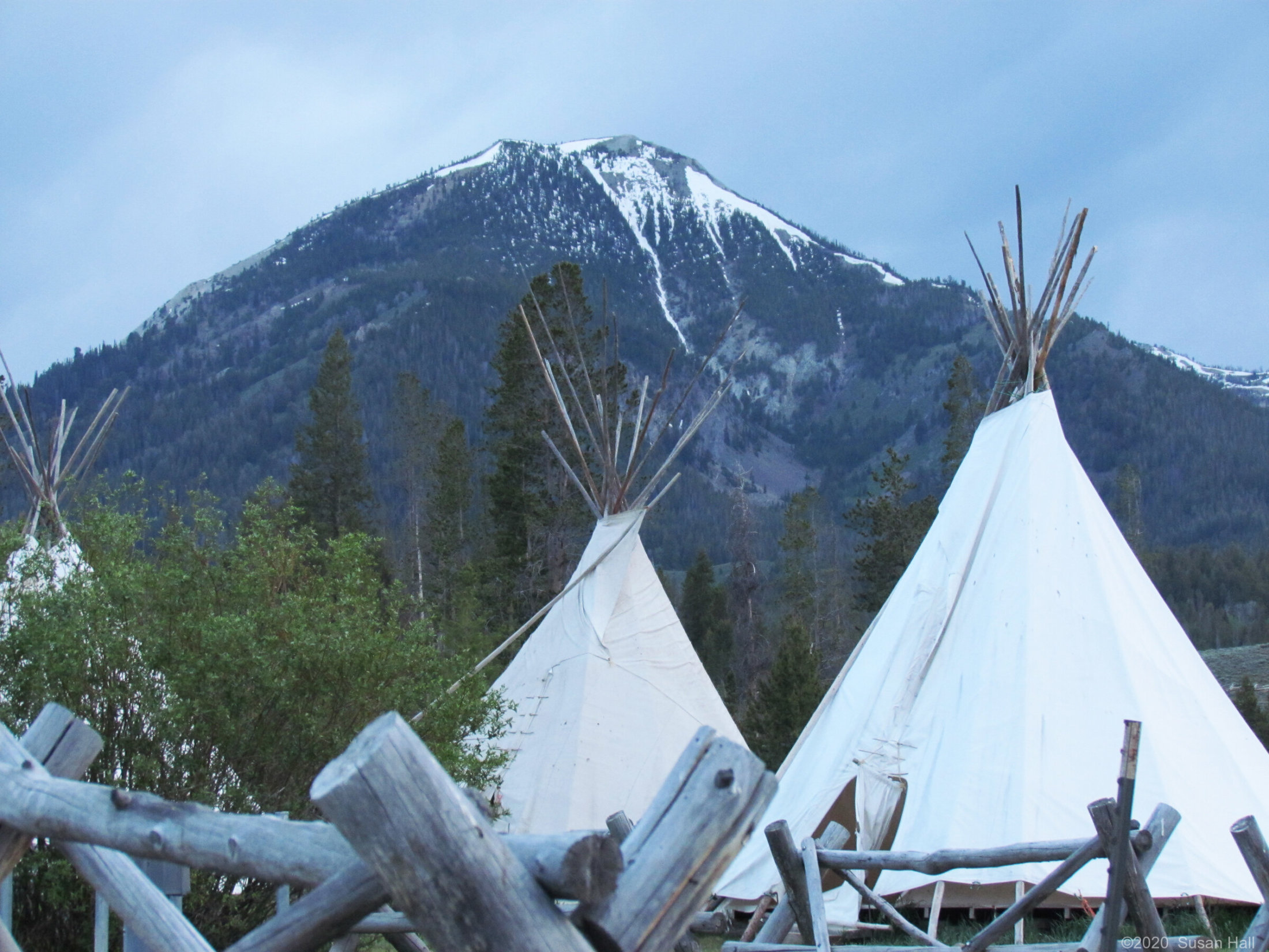 TeePees in the Sawtooths