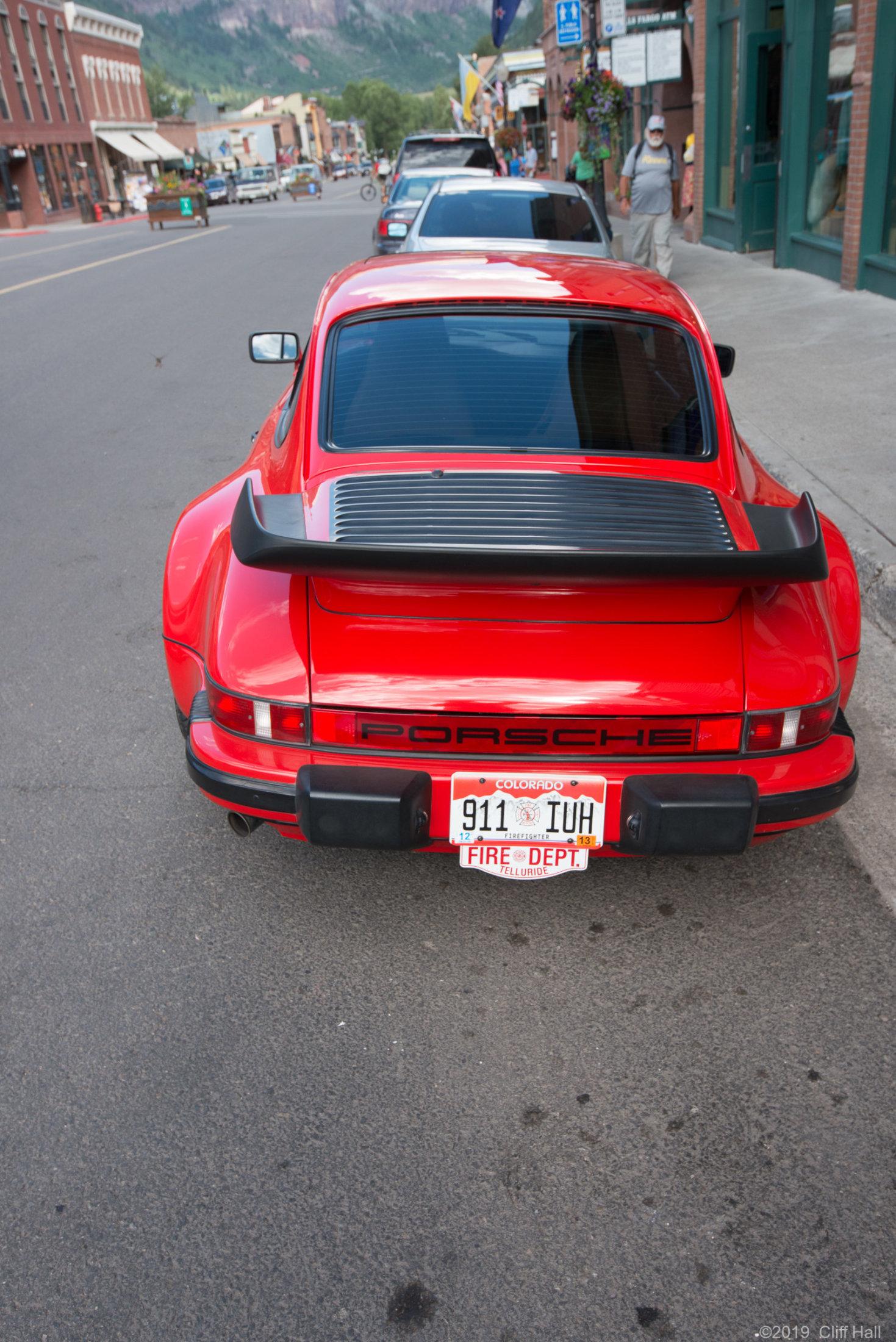 Telluride Fire Car