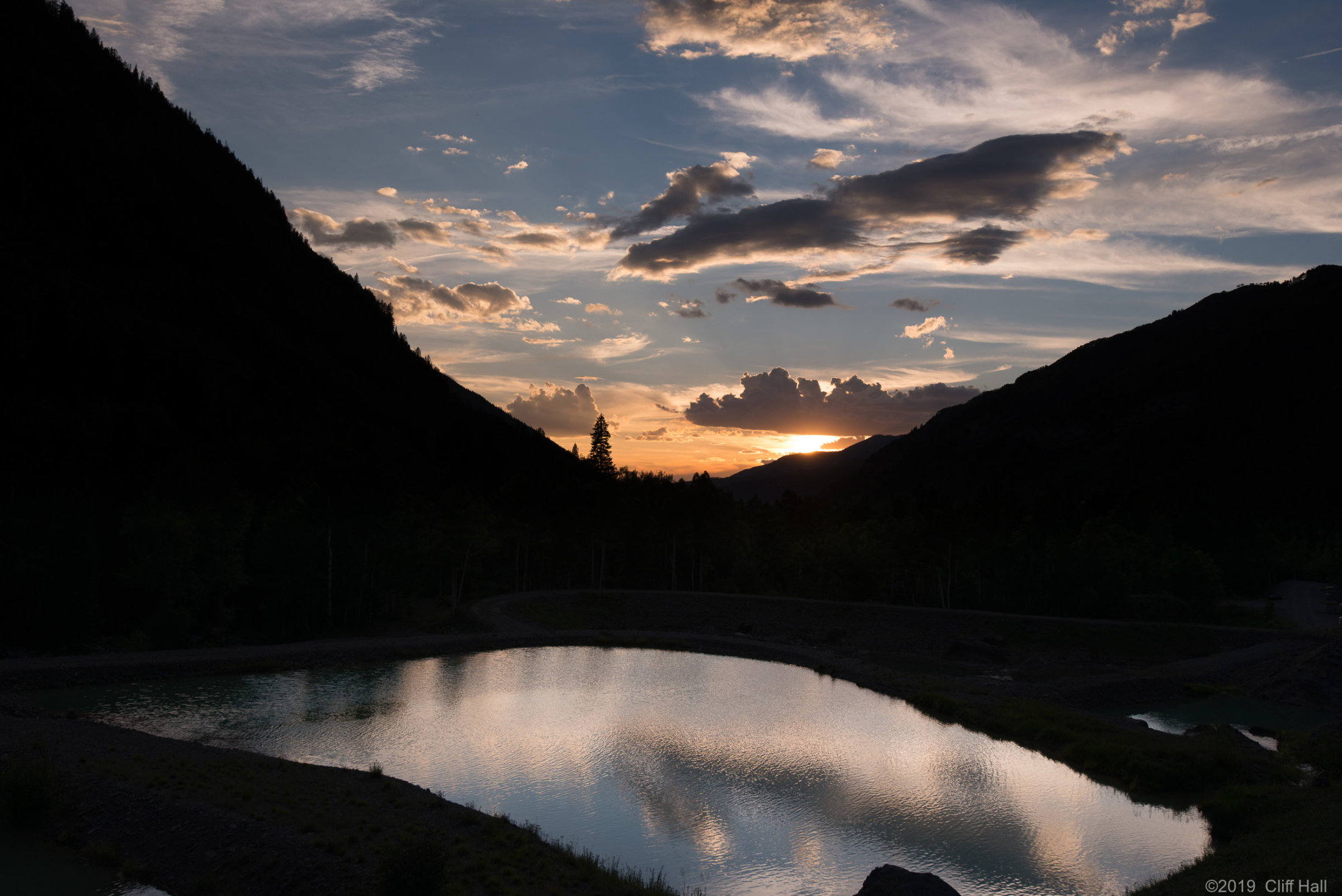 Telluride, CO Sunset