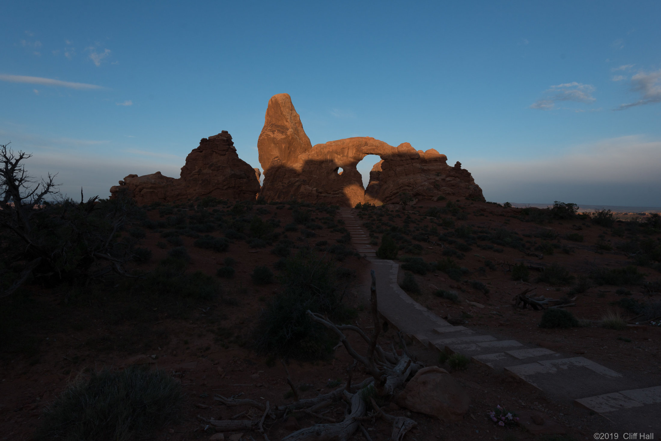 Turret Arch, Arches NP, Moab