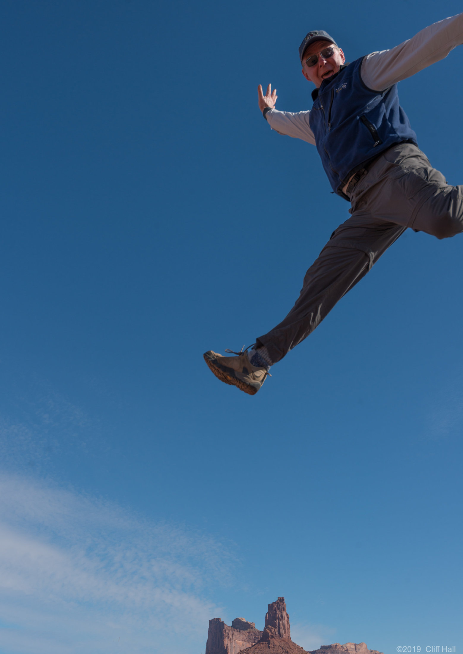 Don leaping over Candlestick