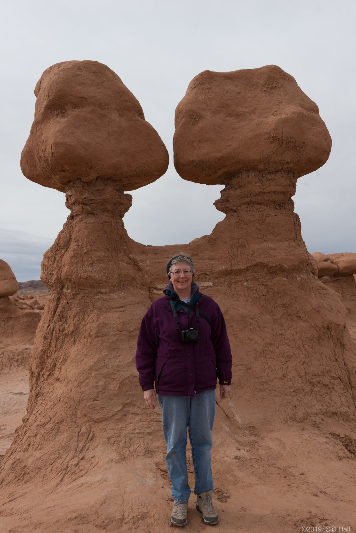 Susan at Goblin Valley SP, UT