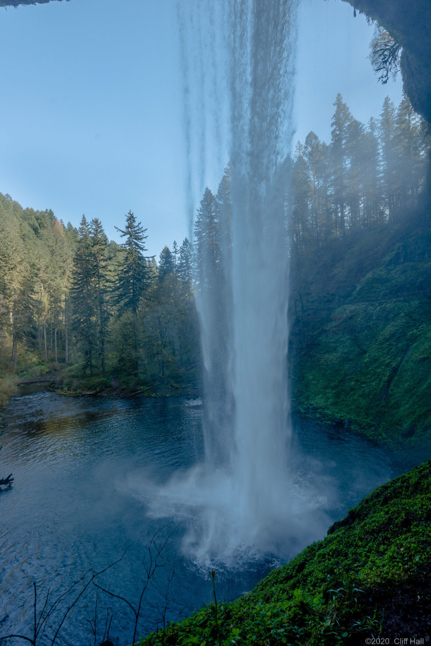 South Falls in Silver Falls State Park, Oregon