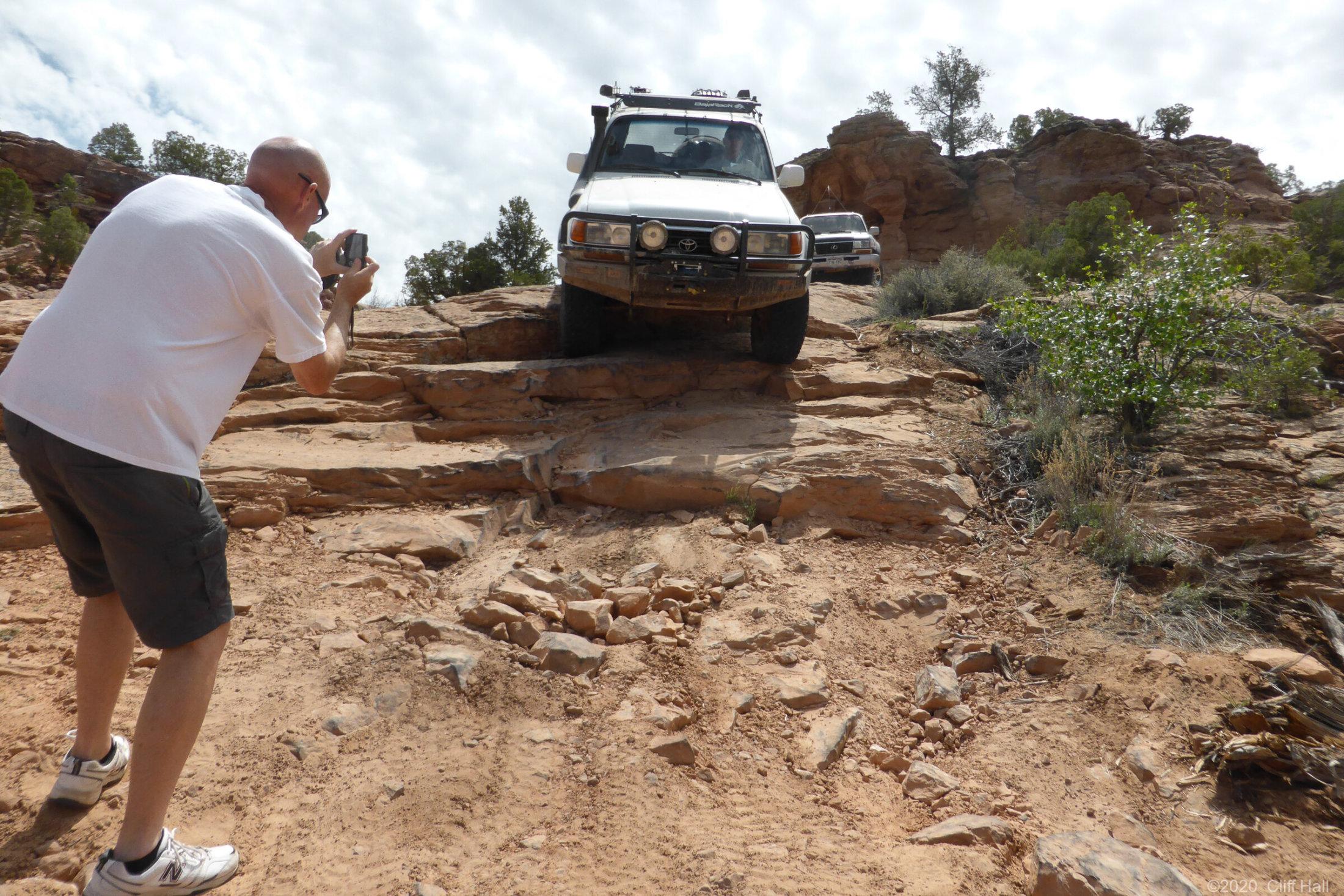 Flat Iron Mesa trail