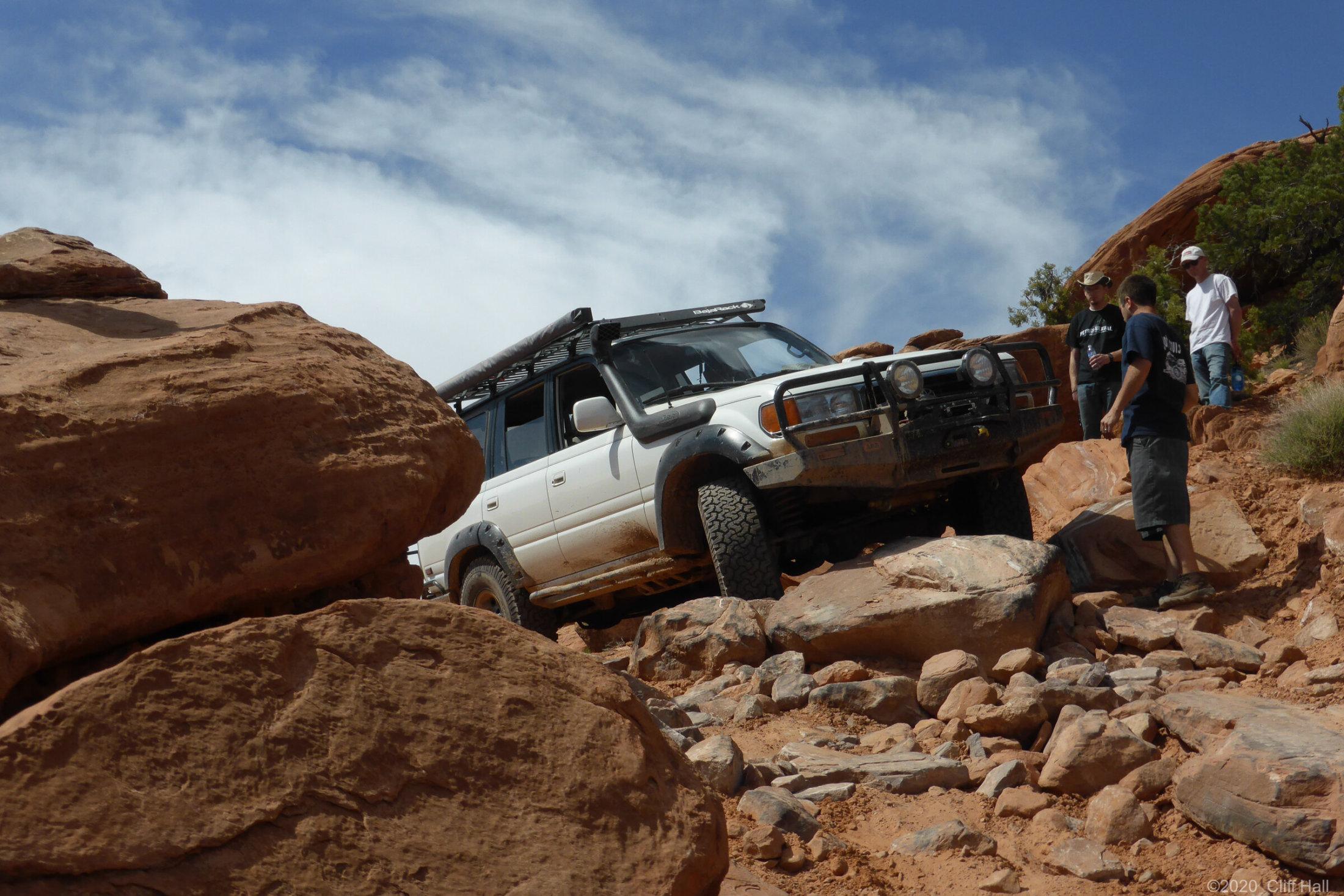 Don on Flat Iron Mesa trail