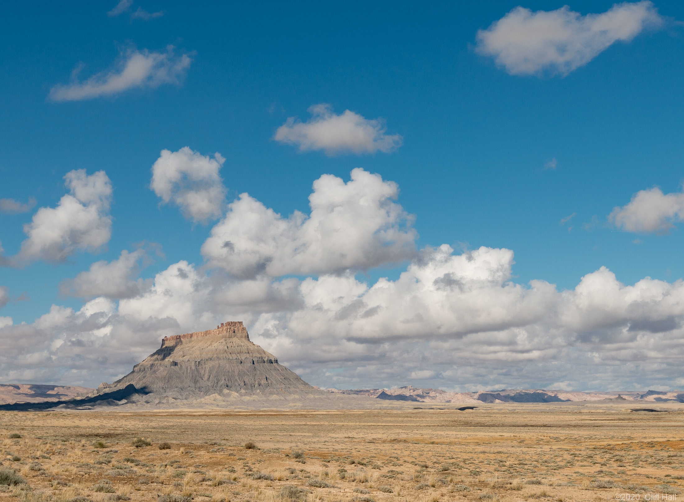 Factory Butte near Hanksville, UT