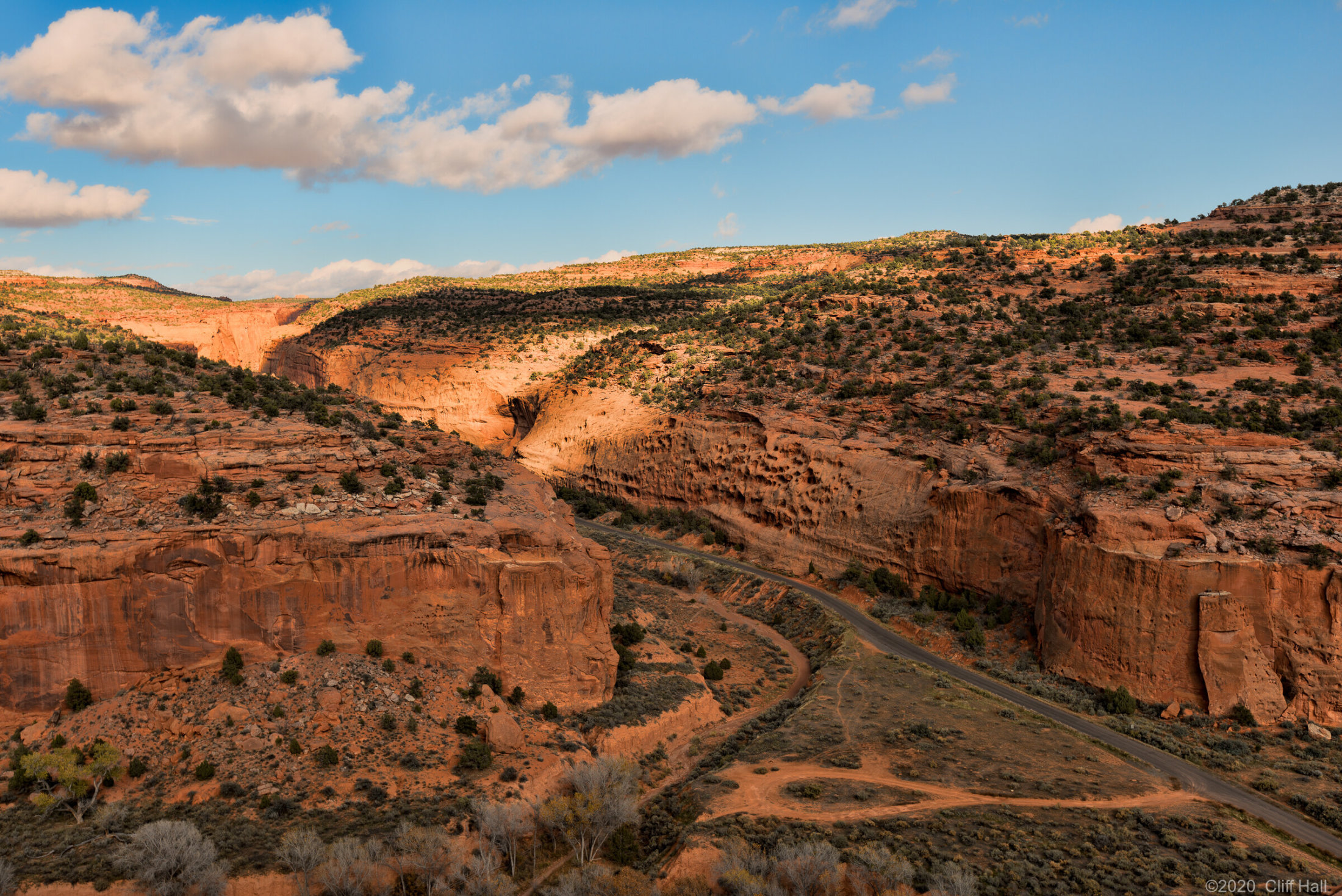 Long Canyon on the Burr Trail