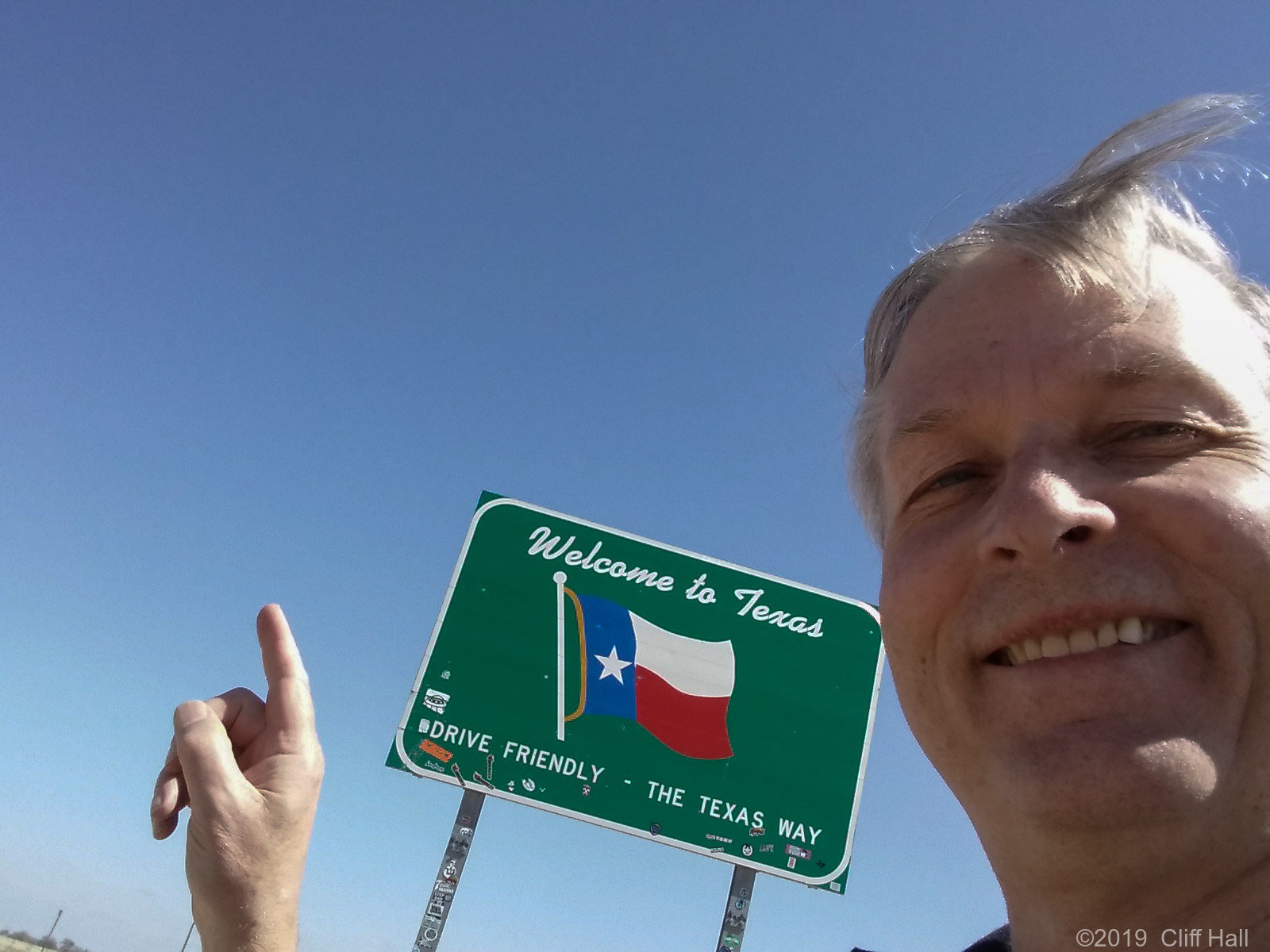 Made it to Texas