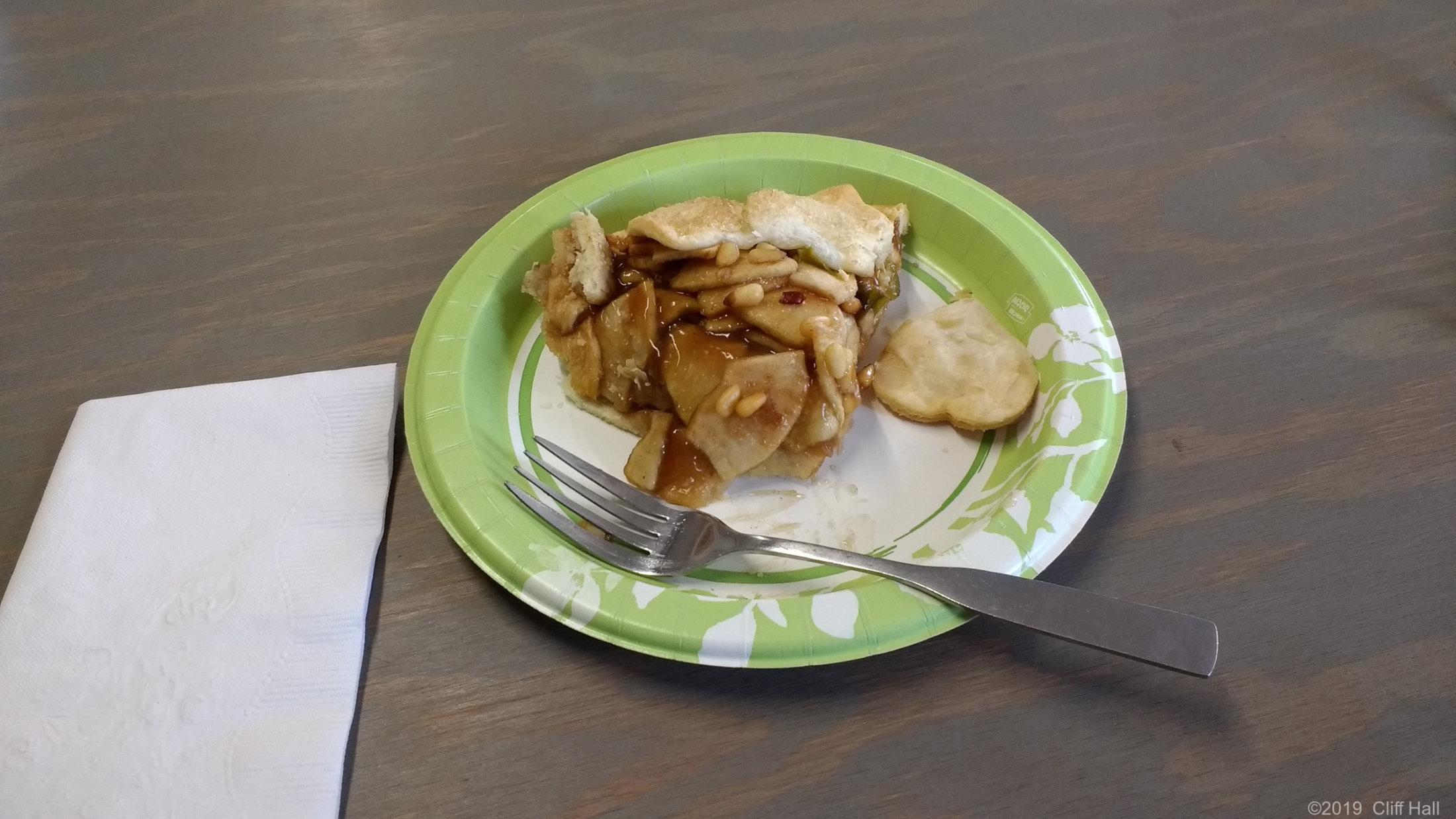 Apple Pinon Nut Pie
