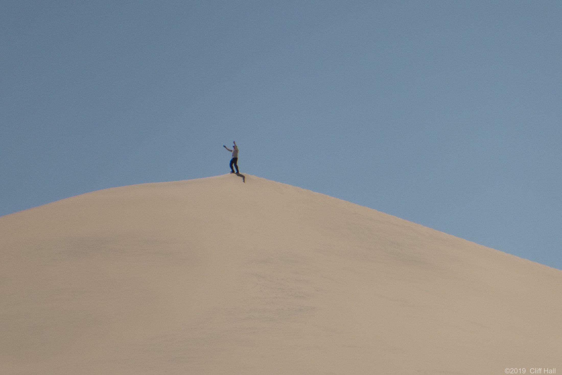 That is a big sandbox