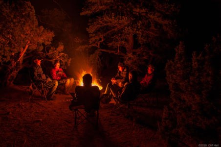 Tall tales around the campfire