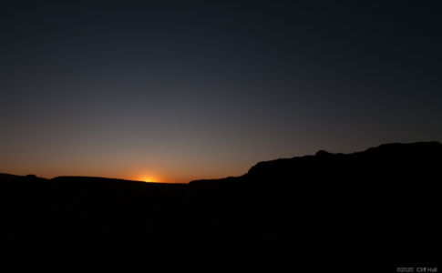 Cathedral Valley sunrise