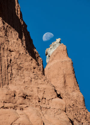 Moonrise Temple of the Sun