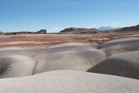 Bentonite clay along Old Notum Rd, UT