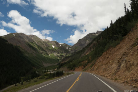 Million Dollar Highway in the San Juan Mountains