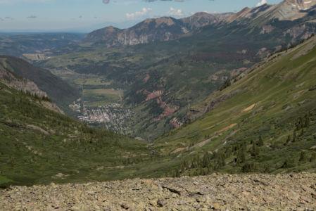 Telluride, CO below
