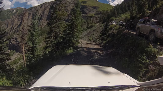 Lots of switchbacks