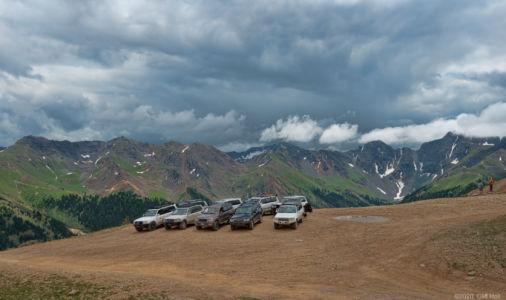 Group at Corkscrew Pass