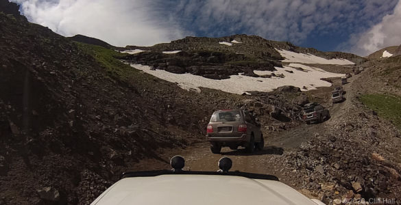 Heading up to the Pass